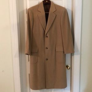 BROOK BROTHERS CAMEL HAIR OVERCOAT